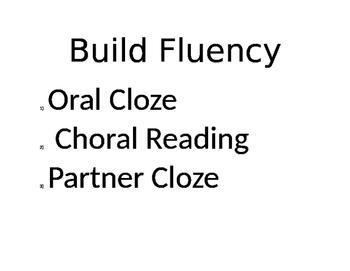 Build Fluency