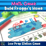Build Froggy's Home- Summer Math Game