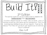 Build It! 2nd Edition Place Value Activity with Subtracting Tens