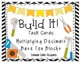 Build It! Area Model for Multiplying Decimals 5th Grade