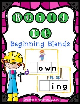 Building Words- Missing Blends