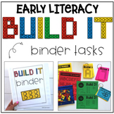 Build It Binder - Early Literacy Tasks