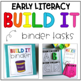 Build It Binder - Playdough