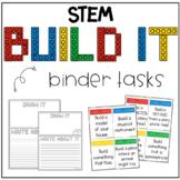 Build It Binder - STEM