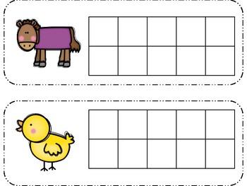 Build It Boards & Clip It Boards - On the Farm