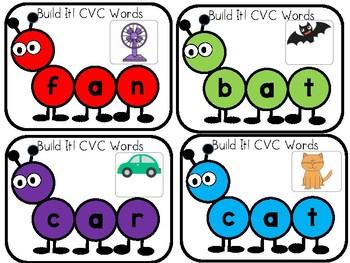 Build It-Bug CVC words