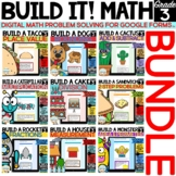 Build It! Digital Math Problem Solving BUNDLE for Google F