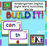 Build It! Kinder Sight Words (40 words)
