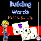 Building Words - Missing Middle Vowel Sounds