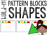Build It! Pattern Blocks SHAPES (discovery and task cards)