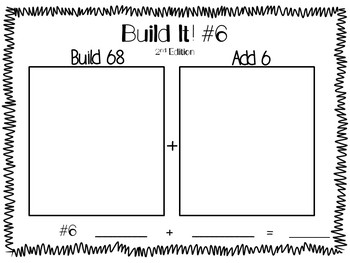 Build It! Place Value Activity/ Adding on Ones 2nd Edition