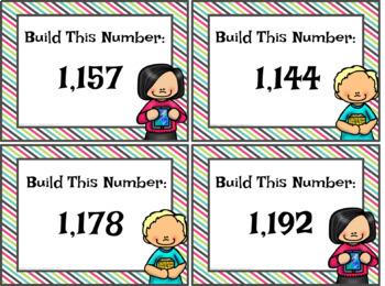 Build It Place Value Center