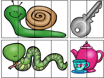 Build-It! Say-It: Phoneme Segmentation Puzzles