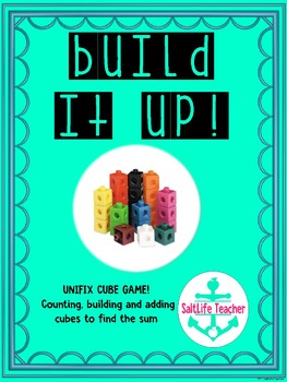 Build It Up! Find the Sum Task Cards using Unifix Cubes
