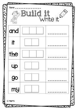 Build It Write It