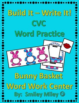 Build It - Write It CVC Words - Spring and Easter Center