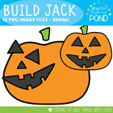 Build Jack - Jack o Lantern Clipart for Teaching Resources