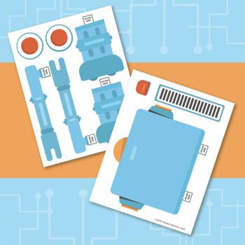 Build Language By Building a Possessive 'S Robot!