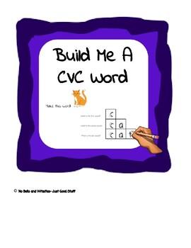Build Me A (CVC) Word