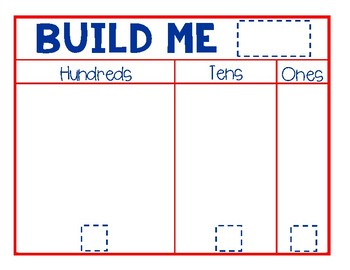 Build Me Place Value