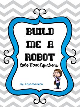 Build Me a Robot Cubic Root Equations