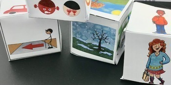 Telling Stories and Oral Narratives with Story Dice Speech Therapy