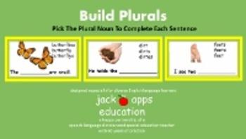 Build Plurals:  Pick The Plural Noun