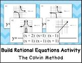 Build Rational Equations Activity