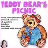Build Receptive and Expressive Language Skills with a Teddy Bear Picnic