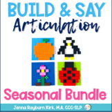 Build & Say: Articulation Seasonal Bundle