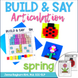 Build & Say: Spring Brick Articulation