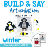 Build & Say: Winter Brick Articulation