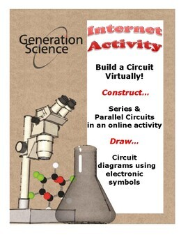 FREE:  Build Series & Parallel Circuits, Virtually!