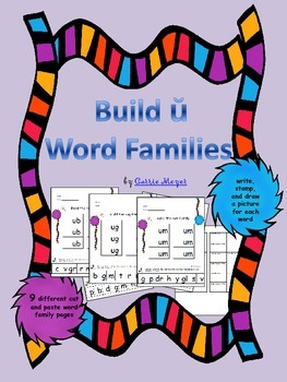 Build Short u Word Families