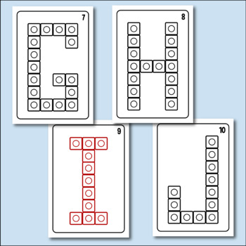 Build Sight Words With Connecting Cubes - Upper and Lower Case Bundle