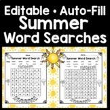 Sight Word Hunt for Summer {Find and Write 80 Common Sight Words!}