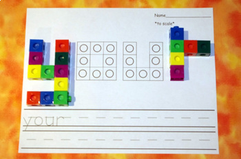 Second Grade Literacy Centers with Snap Cubes {46 Words!}