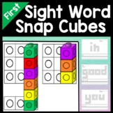 First Grade Literacy Centers with Snap Cubes {41 Pages}