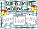 Build Sight Words with Play Doh {aligned with Journey's 88 words}