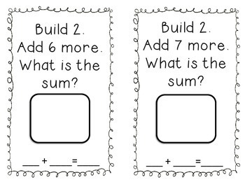 Build, Snap & Add! Addition Center