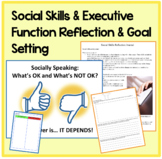 BUNDLE Build Social Skills with Executive Functioning Activities