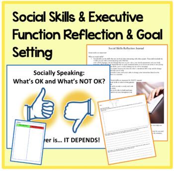 BUNDLE Build Social Skills with Executive Functioning Activities