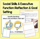 Social Skills & Exec FunctionS: Reflection & Goal Setting