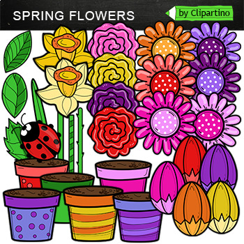 Build  Spring Flower Clipart