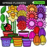 Build  Spring Flower Clipart