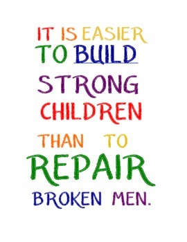 Build Strong Children poster