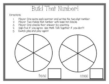 Build That Number Place Value Game