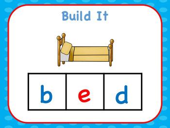 CVC Build The Word Short e