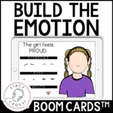 Build The Emotion BOOM CARDS™ Activity for Facial Expressions