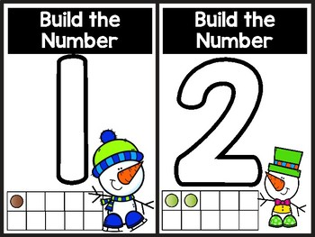 Build The Number Snowman